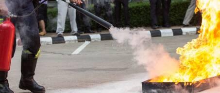 Brandschutzkurs Instruktion