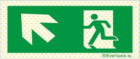 Rettungszeichen Reflektierende Ausführung