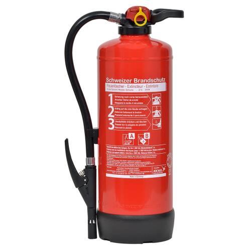 Büro-Feuerlöscher 9 Liter Schaum