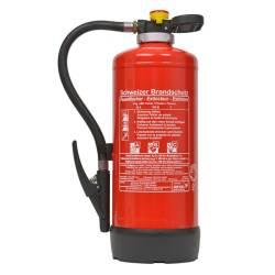 Übungs-Feuerlöscher 9 Liter Schaum Wiederbefüllbar