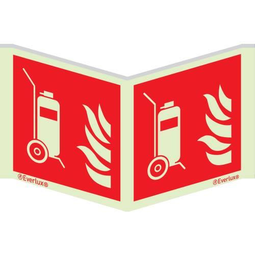 Brandschutzzeichen Winkelschilder