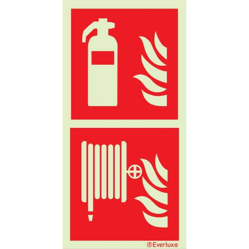 Brandschutzzeichen Kombinations Schilder